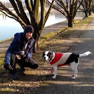 Dogsitter a Mestre Venezia con Teddy